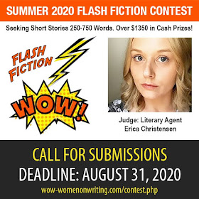 Summer 2020 Flash Fiction Contest - Deadline August 31, 2020