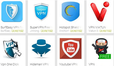 Tüm Vpn'lerin Premium Full Apk'sı - Bedava sınırsız vpn