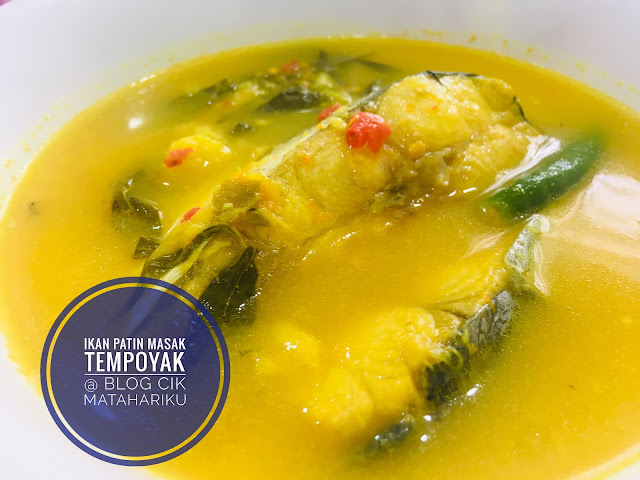 gambar masakan ikan patin masak  tempoyak