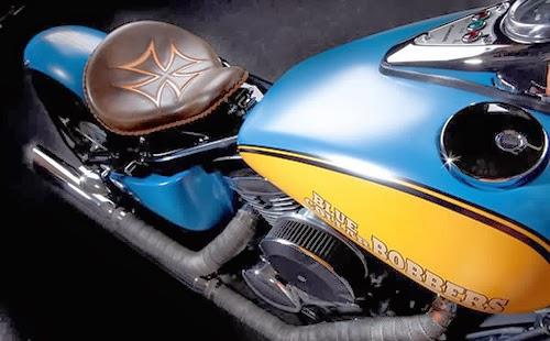 Moto Lovers: Kawasaki Vulcan 800 bobber by Blue Collar Bobbers