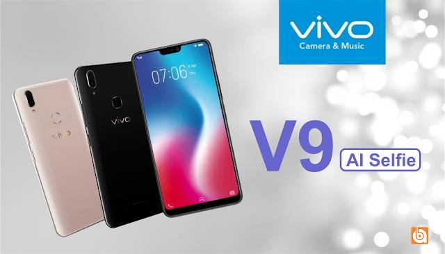 vivo v9, vivo, spesifikasi dan harga vivo v9