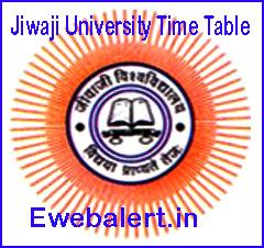 Jiwaji University Time Table