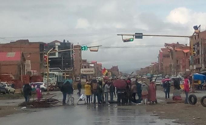 Conflictos: Daños al ornato público en El Alto superan el millón de bolivianos, según la Alcaldía