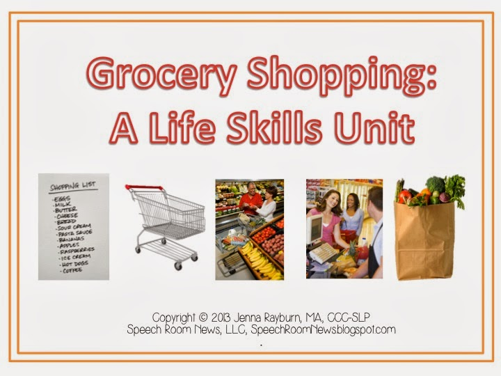 A Special Sparkle Grocery Shopping Life Skills