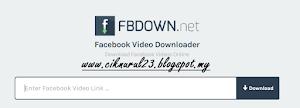 Cara Download Video Facebook Dengan FBDOWN.net