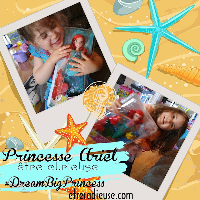 #DreamBigPrincess: Ariel pique notre curiosité