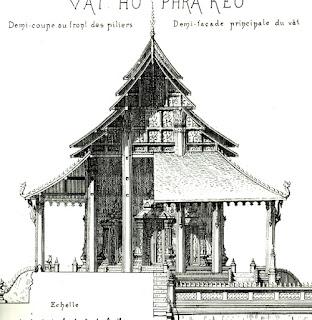Lao book review - L'art du Laos by Henri Parmentier, sample page