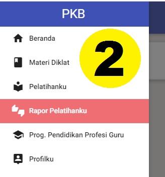gambar rapor PKP 2020