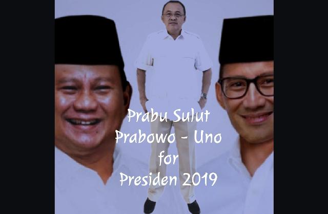 Wenny Lumentut: #PrabowoPresiden2019 Harus Disuarakan Kader Partai Dan Simpatisan Sulut