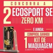 Cadastrar Promoção Aricanduva Dia das Mães 2019 - Concorra 2 Ecosport SE 0KM
