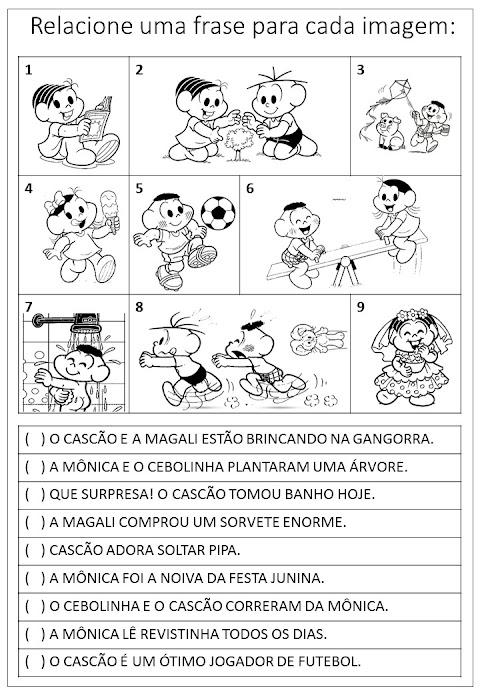 ATIVIDADE DE LEITURA E ESCRITA - ALFABETIZAÇÃO