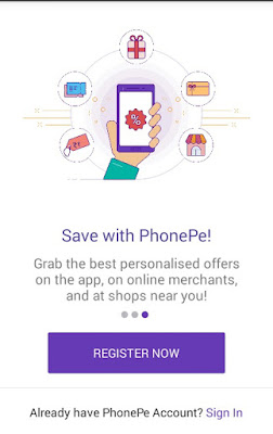 Phonepe-Register-Tab