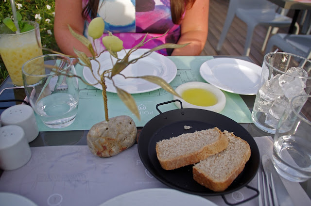 POINT a Restaurant Bread and Starters