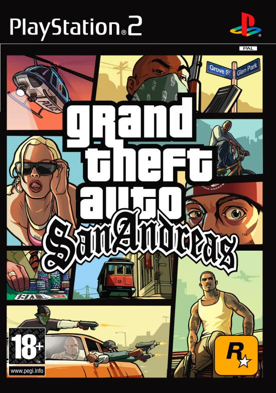 Grand Theft Auto: San Andreas PS2