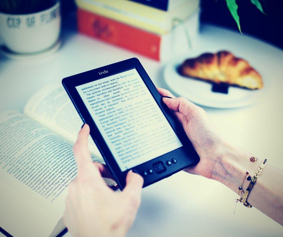 E-reader ou tablet? O que é melhor para leitura?
