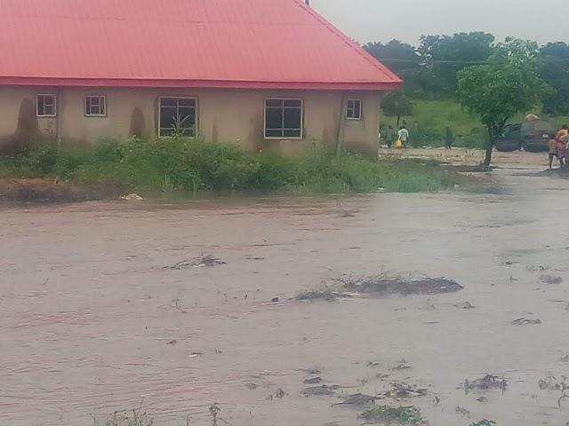 BREAKING: Flood Hits Makurdi, Ravages Homes (VIDEO/PHOTOS)