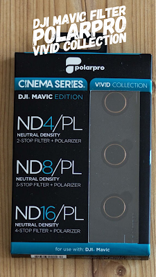 Gear of the Week #GOTW KW 09   DJI Mavic Filter   PolarPro Vivid Collection   ND-Filter für DJI-Mavic-Pro