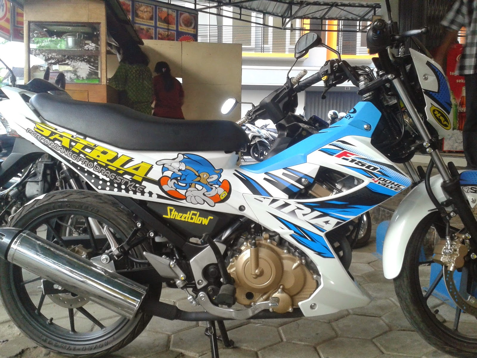 660 Gambar Cutting Sticker Motor HD