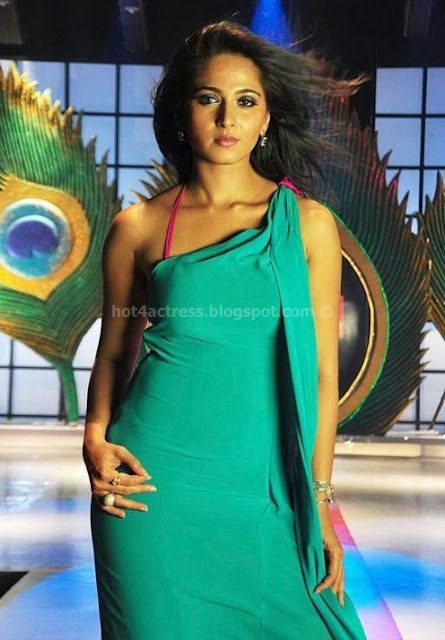 Anushka shetty hot photoshoot in sexy dress