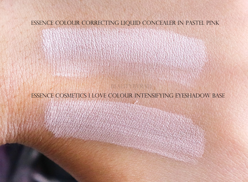Essence Colour Correcting Liquid Concealer in 10 Pastel Pink swatch