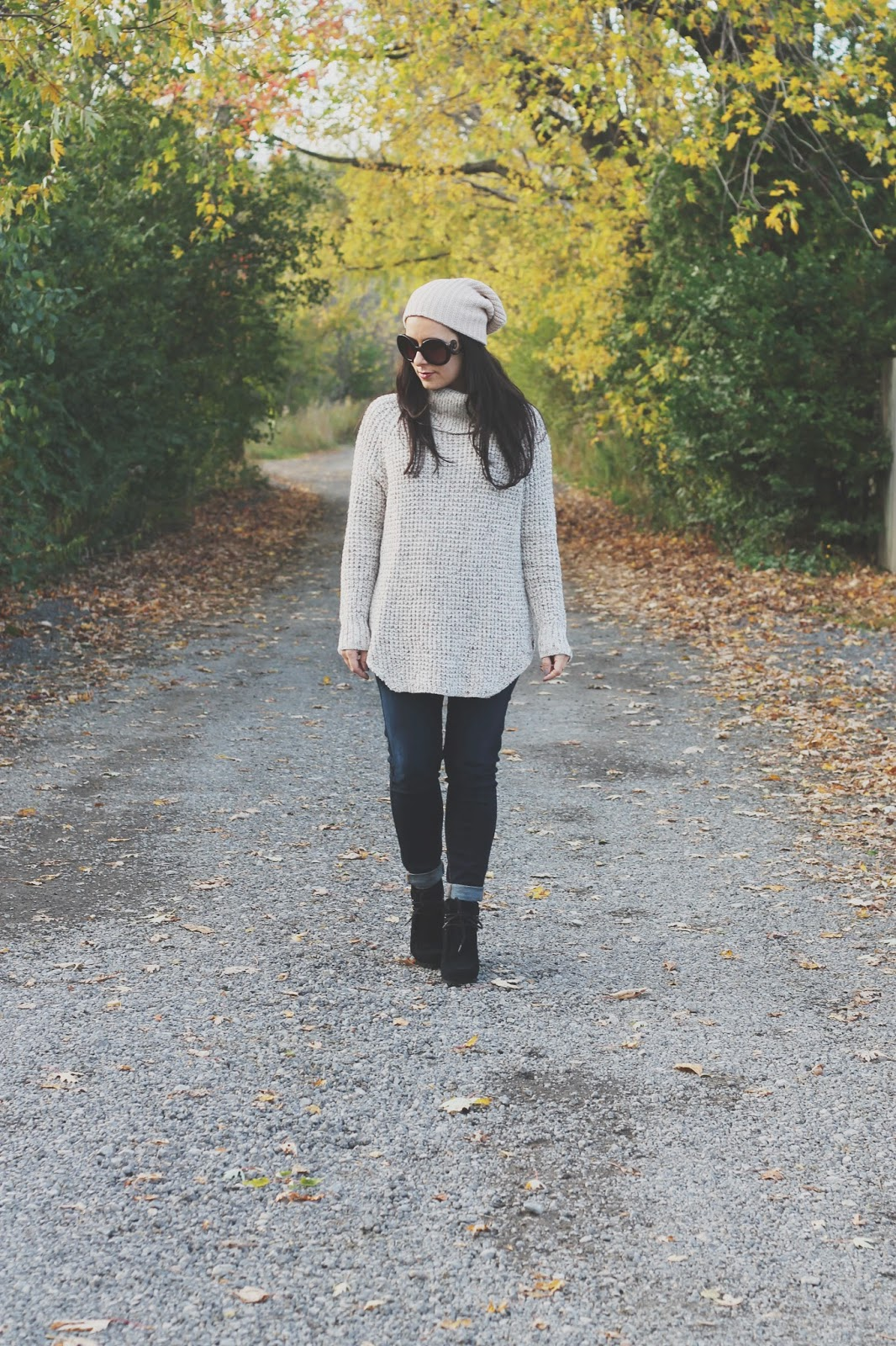 9faecc4ab2 falling for . . . wedge booties and beanies