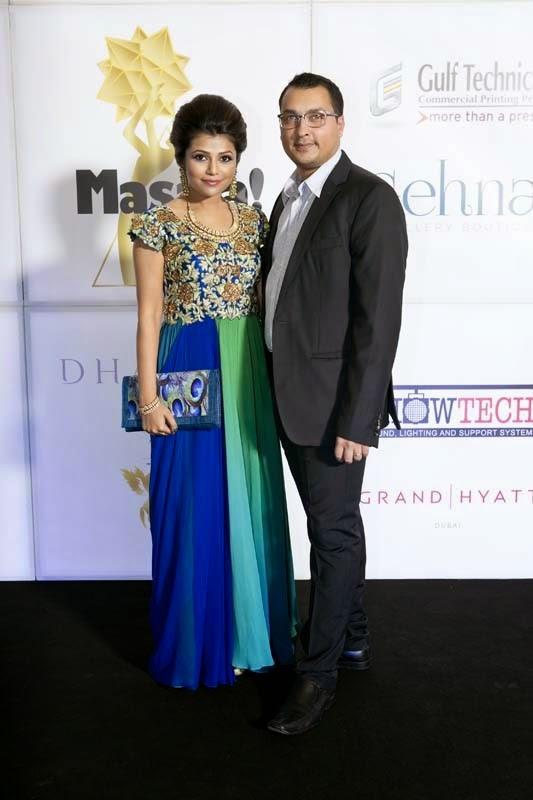 Deepti and Rahul Chandak, Masala! Awards 2014 Photo Gallery