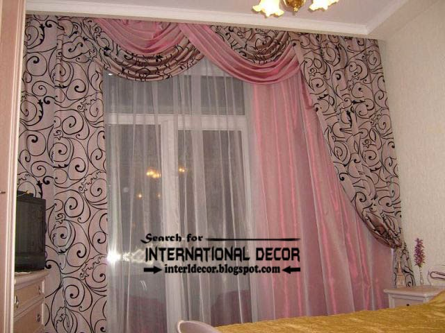 ready made curtains, modern curtain designs,patterned curtain