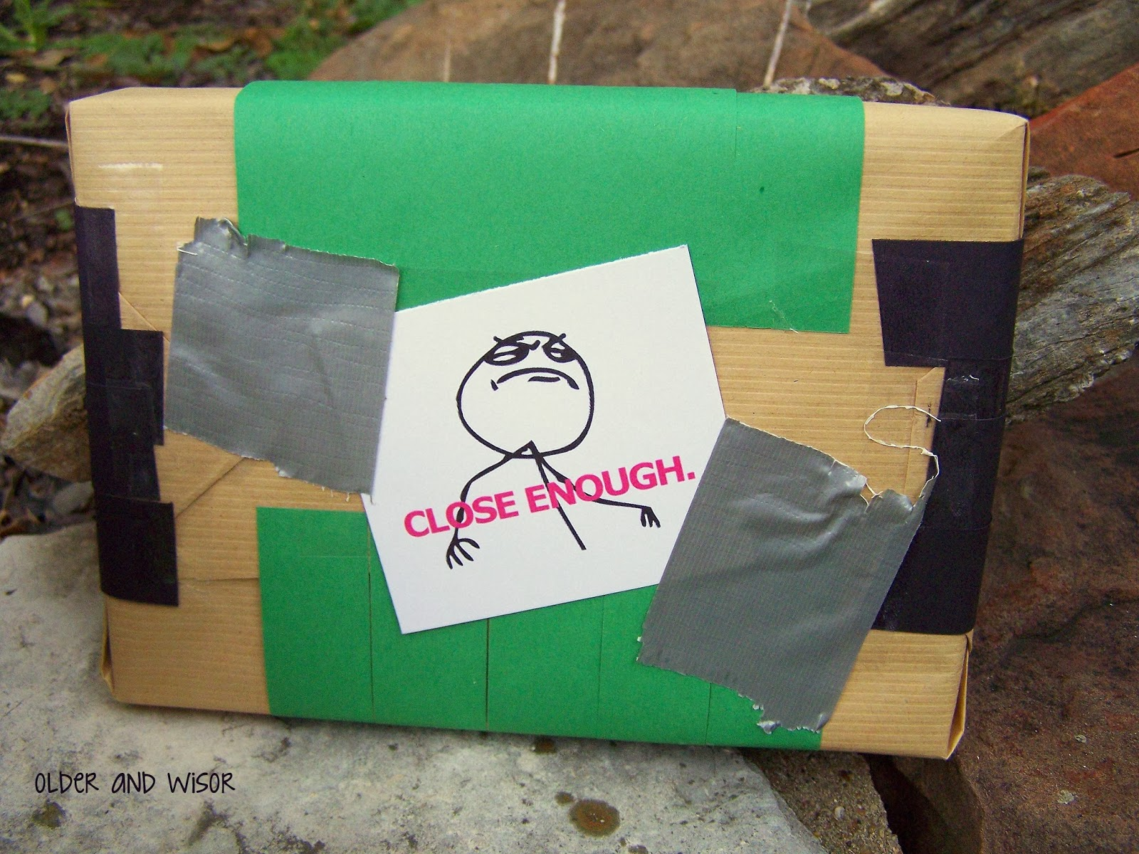 older and wisor: Creative Christmas Gift Wrapping Ideas {5 ...