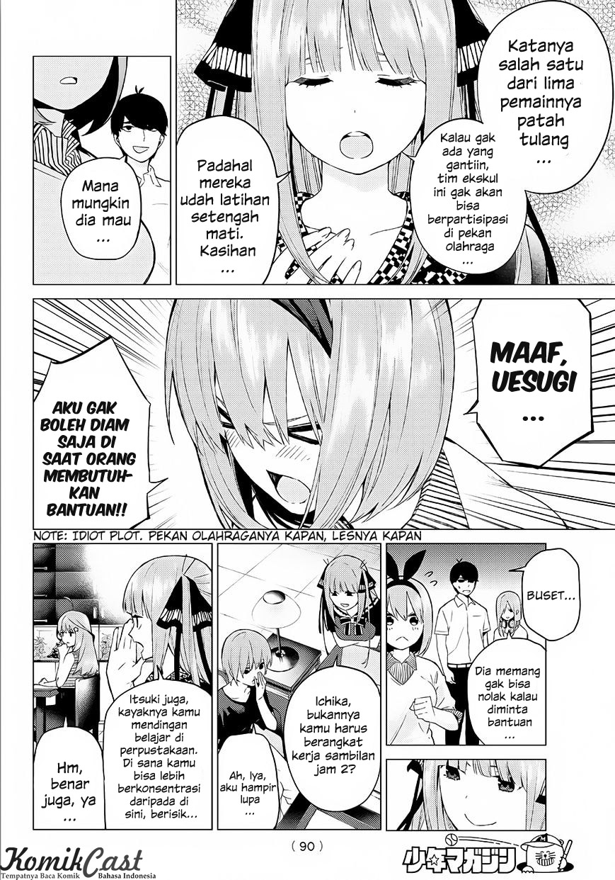 Go-toubun No Hanayome Chapter 5 Bahasa Indonesia