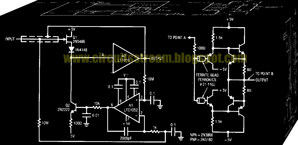 Digital Low Input Capacitance Buffer Circuit Diagram