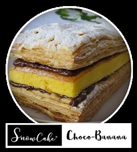 Snowcake Choco Banana