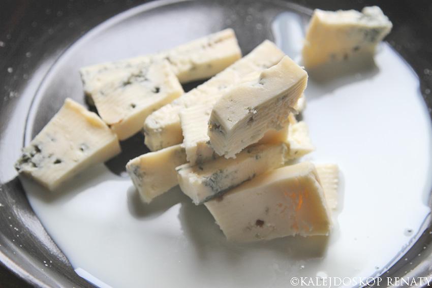 jak się robi sos z gorgonzoli