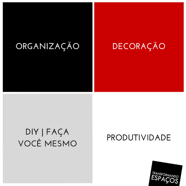 Temas do Blog Transformando Espaços