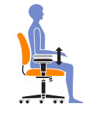 Adjust Your Office Chair Arms Properly