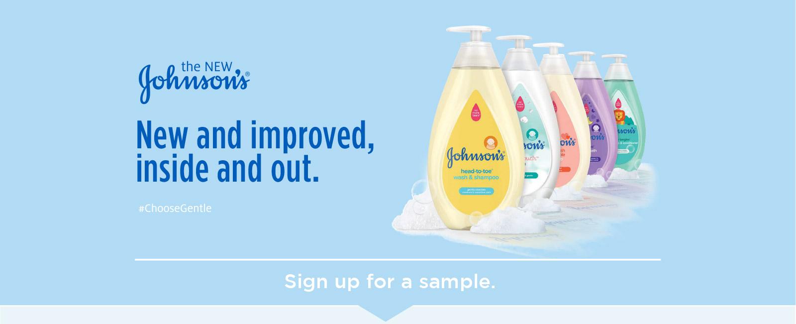 Millionaires Giving Money: Johnson's Baby Wash & Shampoo