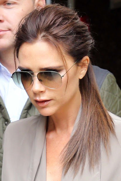 victoria beckham's hair of