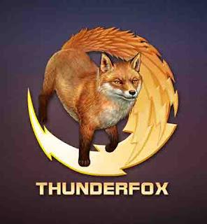Thunderfox logo (AlMaNeGrA)