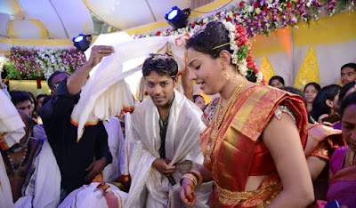 Geetha Madhuri andNandu Wedding rituals photos 2