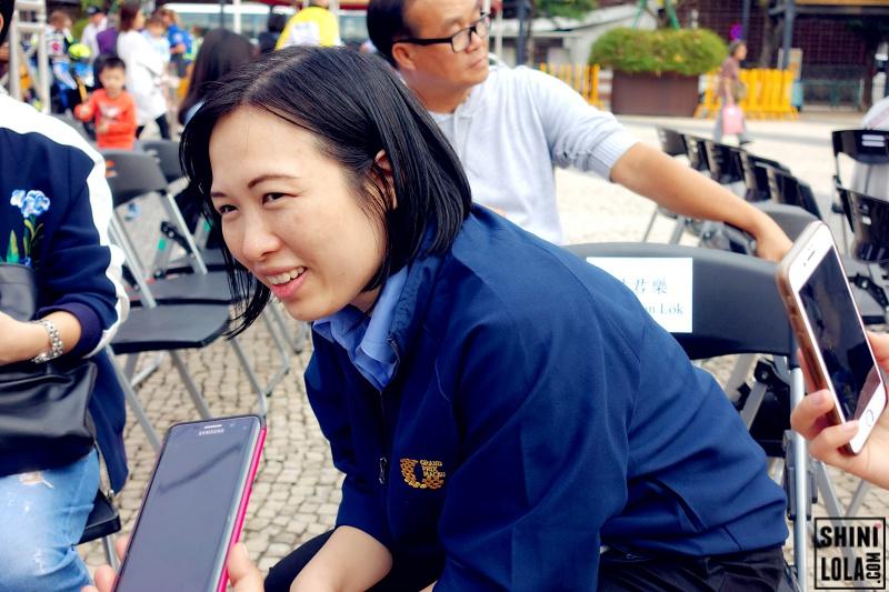 Interview session @ Macau Grand Prix Open Ceremony