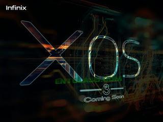 Infinix UI - XOS 3 customized version