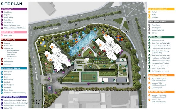 Gem Residences Site Plan