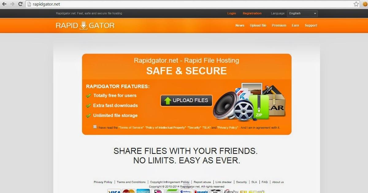 Rapidgator net free premium account : caralibro ga