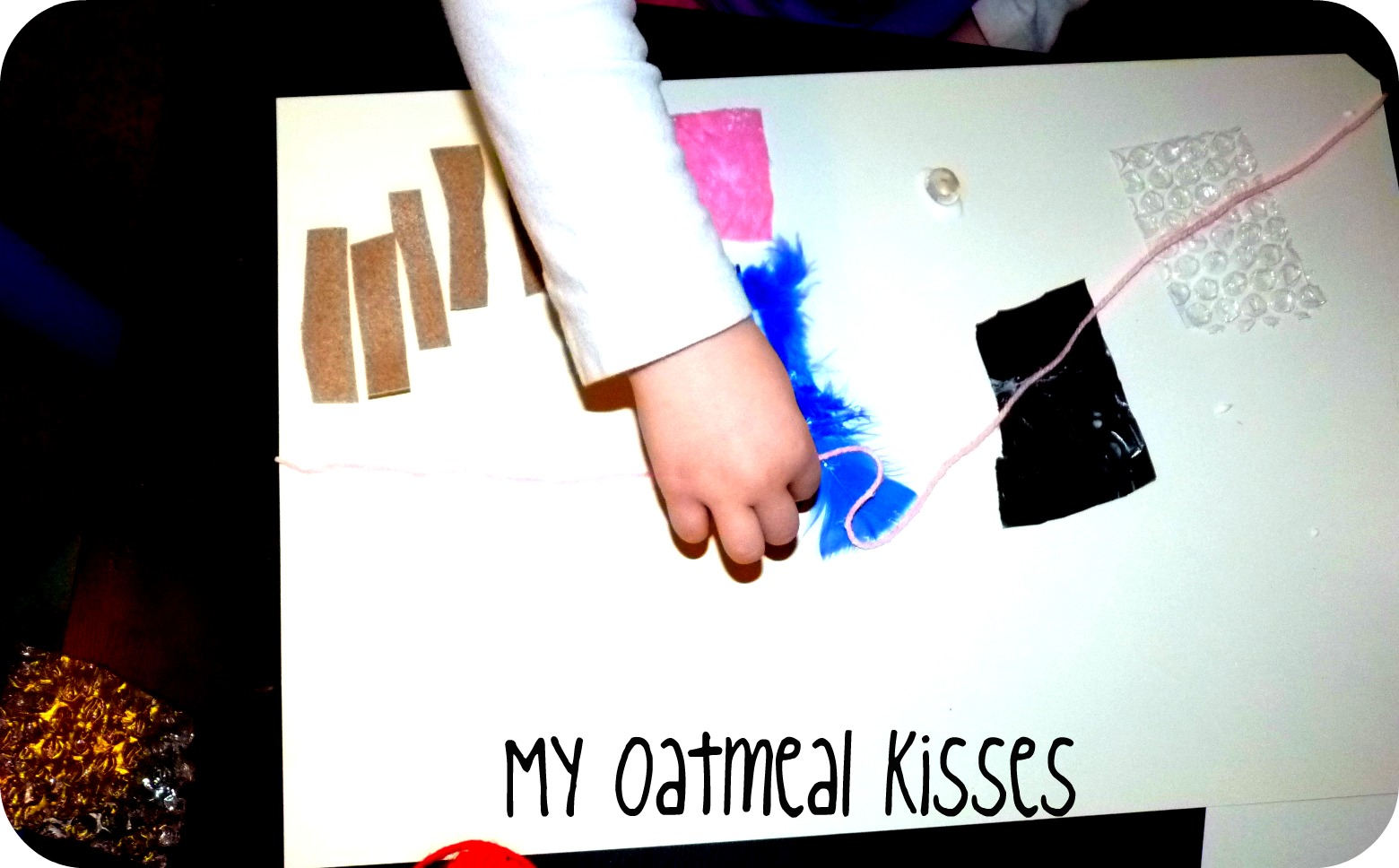 My Oatmeal Kisses The Sense Of Touch Scavenger Hunt
