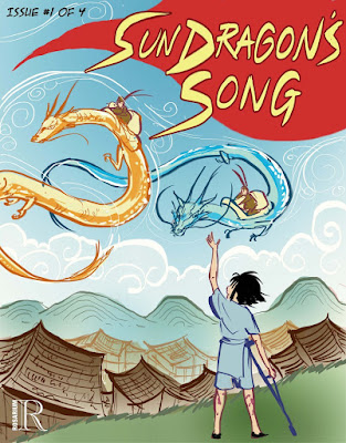 sun dragon's song issue 1. comics, fantasy, children