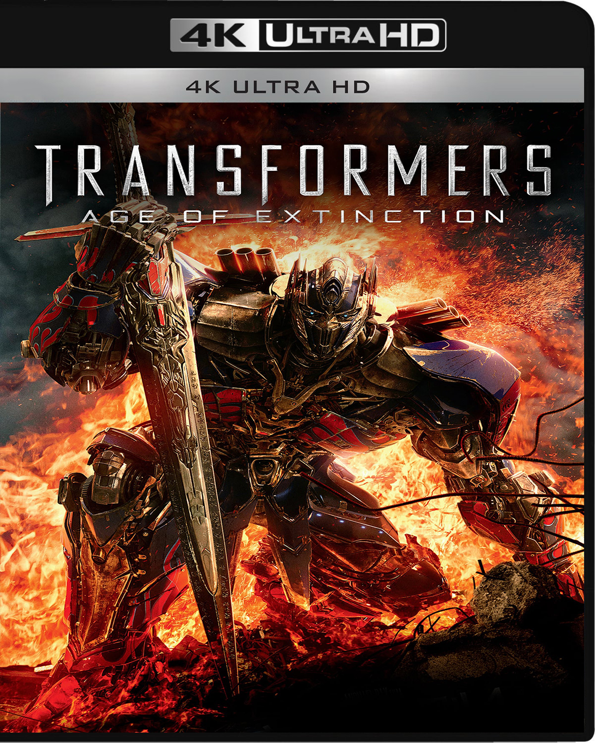 Transformers: Age of Extinction [2014] [UHD] [2160p] [Español]