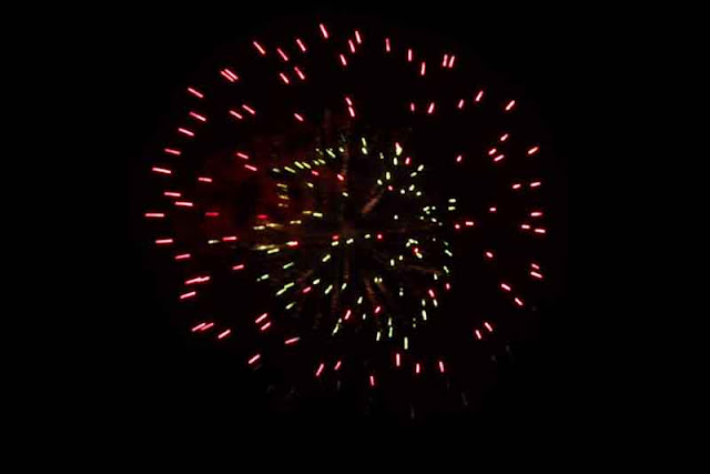 festival, fireworks, Kyuzo Toyama, Okinawa