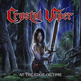 """Το video των Crystal Viper για το """"At the Edge of Time"""" από το ομότιτλο ep"""