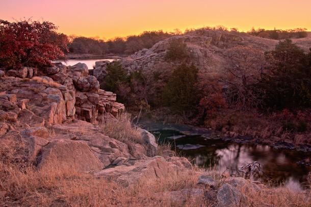 Oklahoma Wichita Mountains Wildlife Refuge, Lawton
