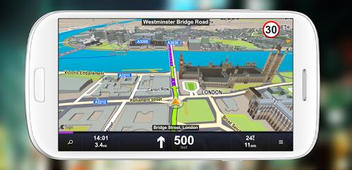 Aplikasi Navigasi GPS Sygic Offline Peta Indonesia
