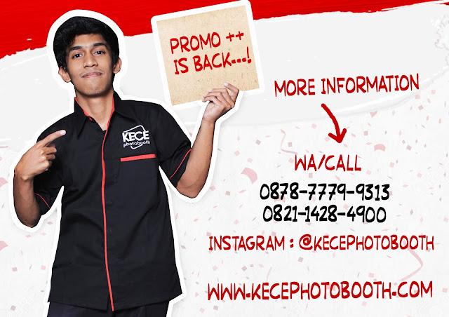 Kece Photobooth - Promo Agustus